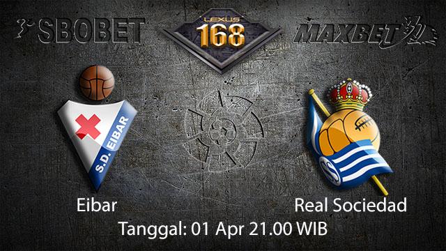 BOLA88 - PREDIKSI TARUHAN BOLA EIBAR VS REAL SOCIEDAD 1 APRIL 2018 (LA LIGA)