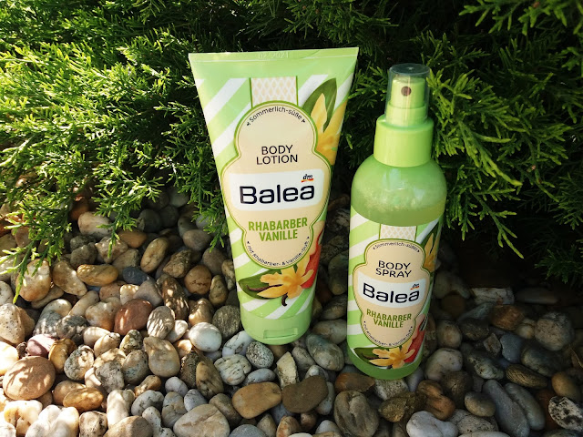 Balea Rhabarber Vanille Body Lotion & Body Spray