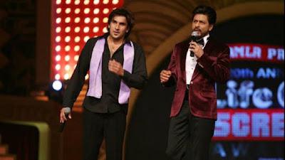 अभिनेता रणवीर सिंह और शाहरुख खान