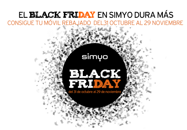 Black Friday Simyo 2018