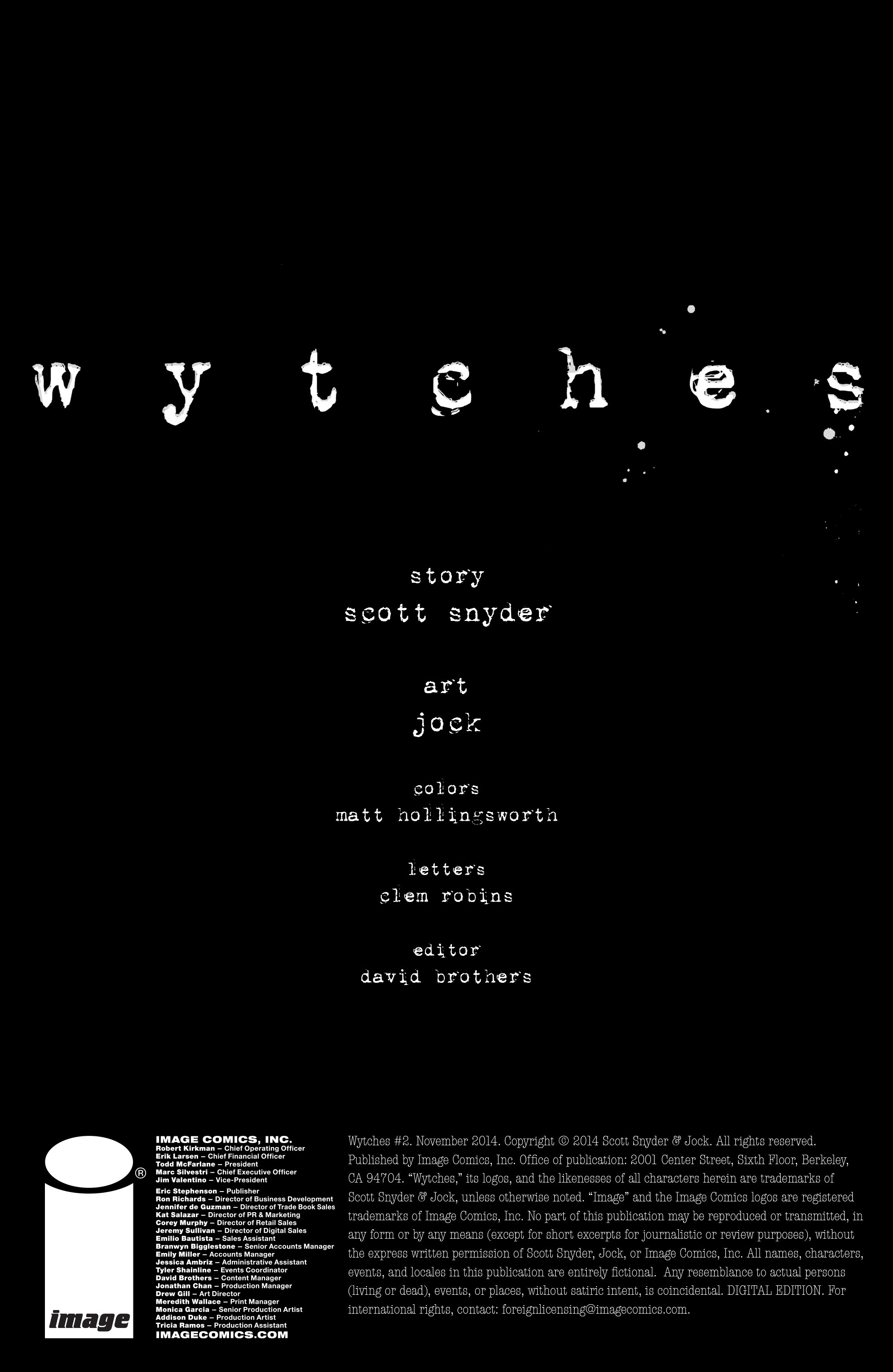 Read online Wytches comic -  Issue #2 - 2