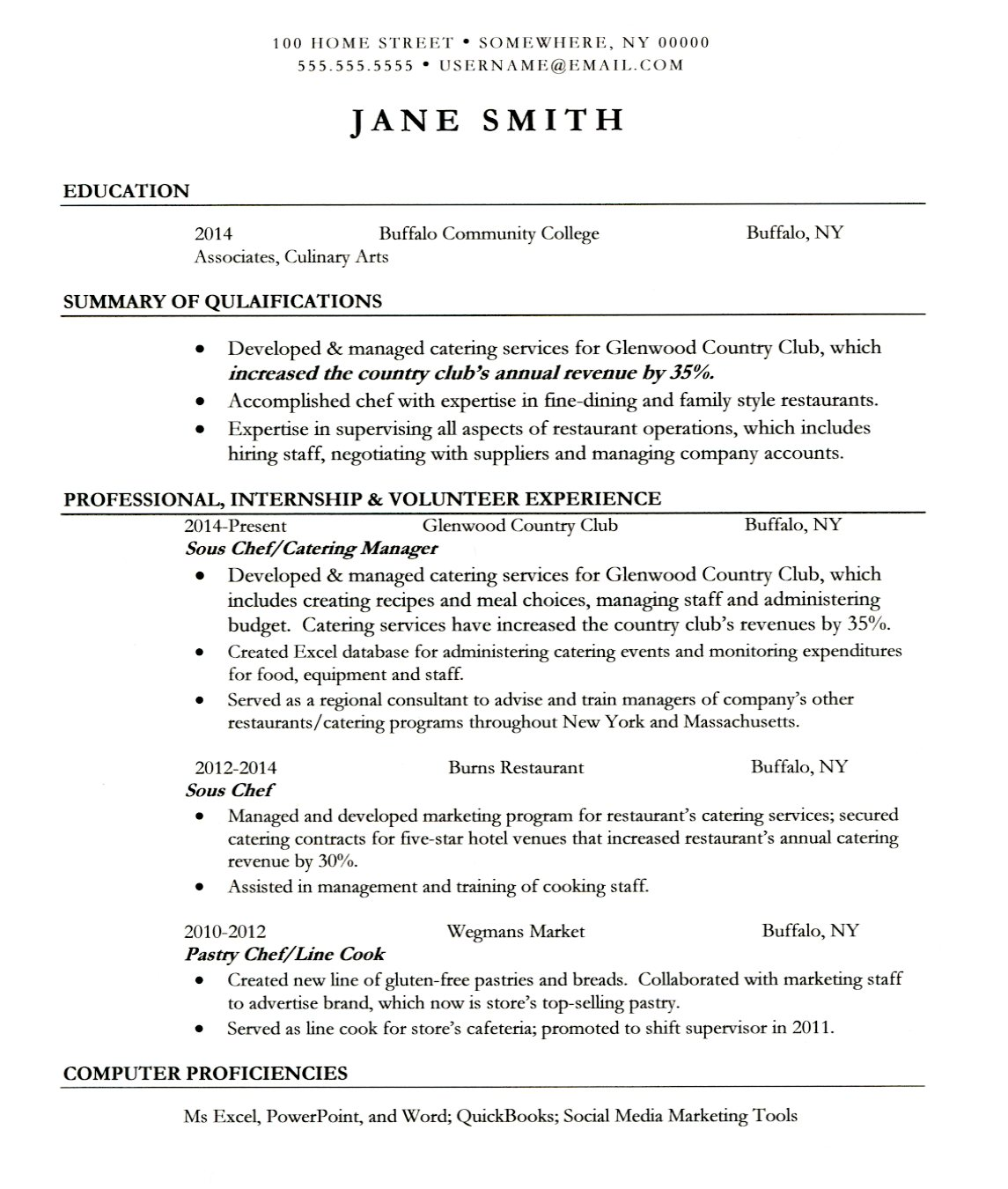 Pantry Chef Cover Letter Catering Chef Cover Letter
