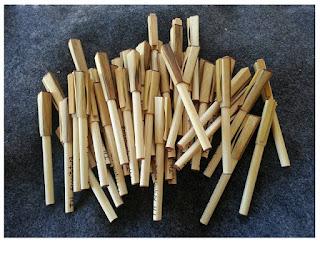 Pulpen Bambu
