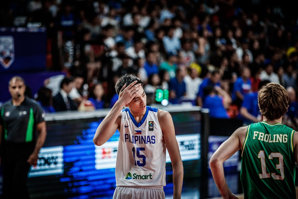 1667b61ec842 Kai Sotto and Batang Gilas bit off more than they could chew against  Australia.