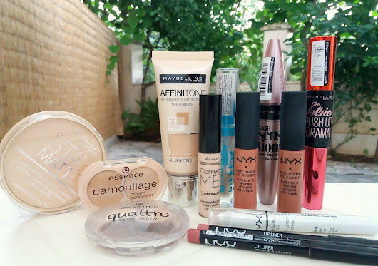 Marized: 10 Favourite Drugstore Makeup Products!