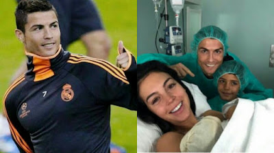 Photo of Cristiano Ronaldo and his Girl friend
