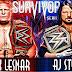 Posible resultado entre la lucha de Brock Lesnar y AJ Styles
