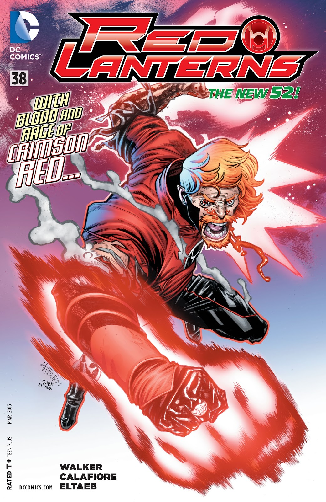Red Lanterns issue 38 - Page 1