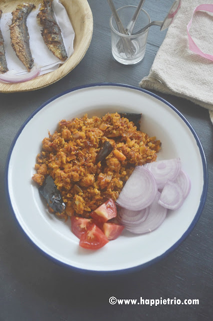 Prawn Egg Masala Recipe