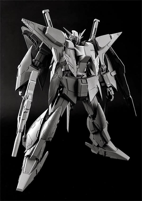 MC Model RX-105 1/144 Xi Gundam