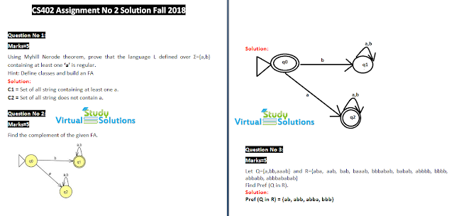 cs402 assignment no 2 solution sample preview fall 2018
