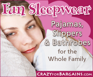 Crazy for Bargains Family Sleepwear