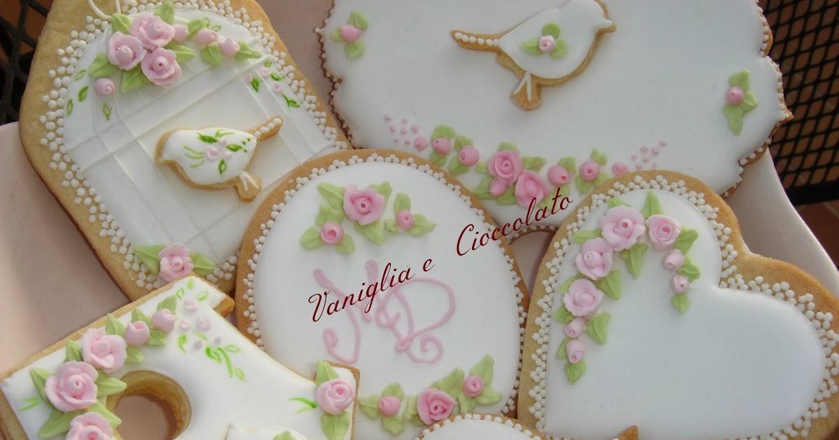 vaniglia e cioccolato Angeli e rosedue giorni immersa nella Ghiaccia Reale