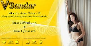 Link Alternatif Judi Bandar66 Online VBandar99 - www.Sakong2018.com
