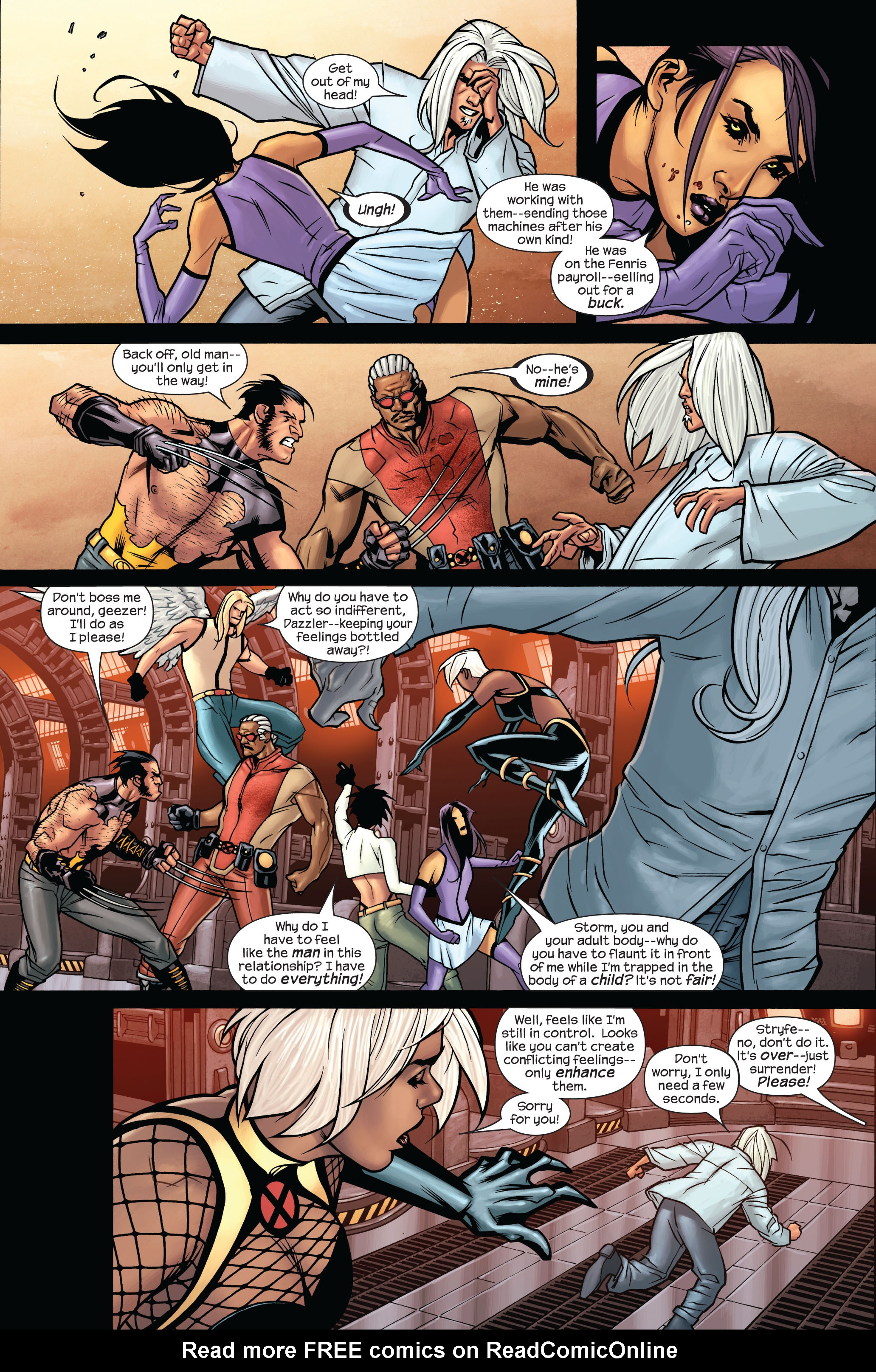 Read online Ultimate X-Men comic -  Issue #87 - 10