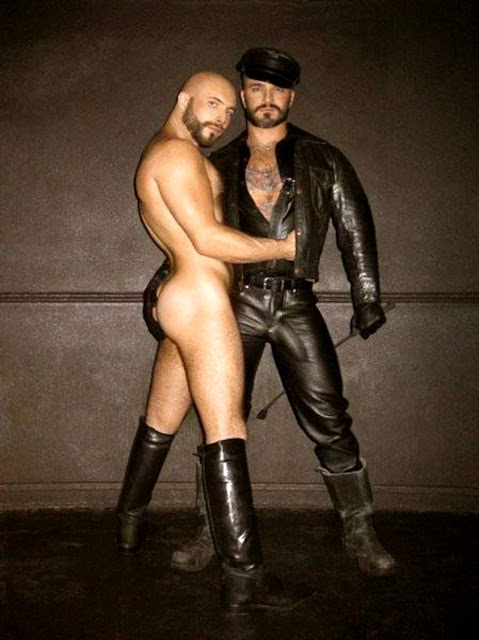 Gay leather men