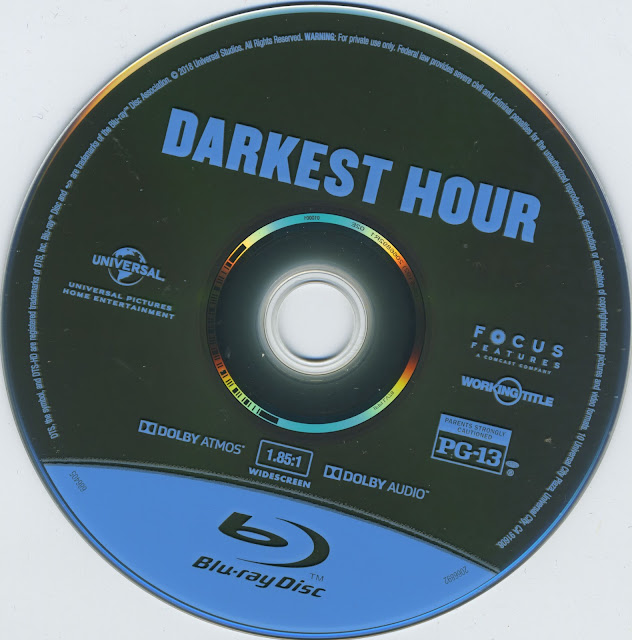 Darkest Hour Bluray Label