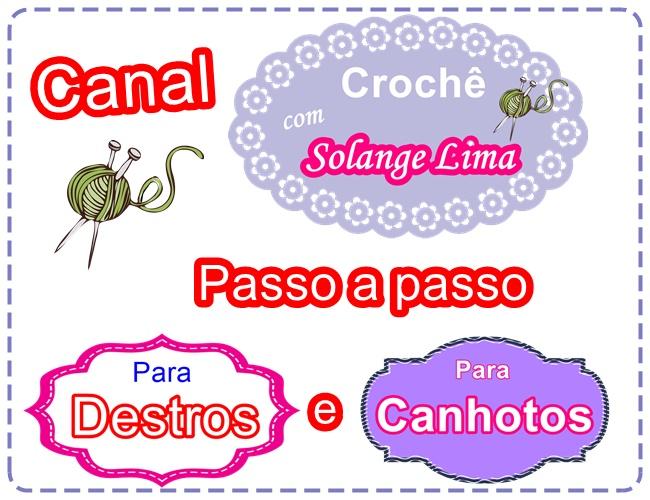 Canal: Crochê com Solange Lima