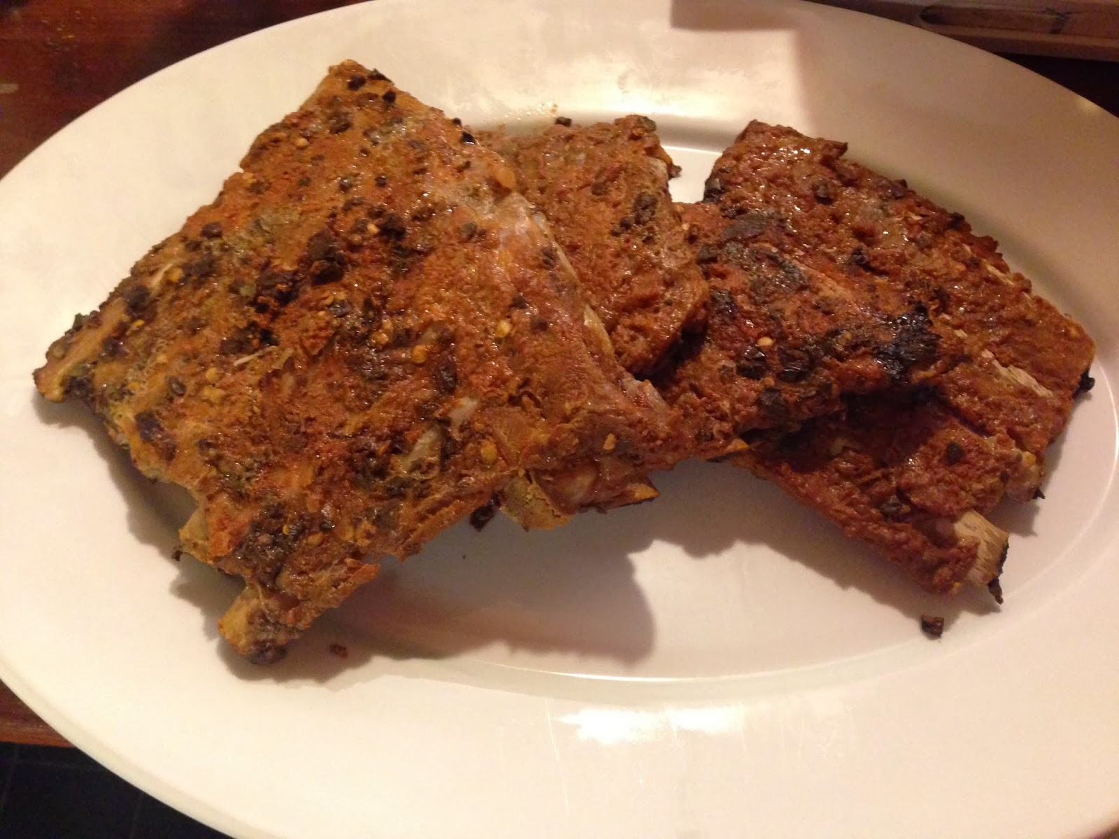 gluten free smoked pork ribs