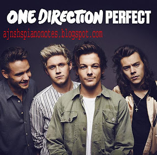 Perfect - One Direction English Piano Notes