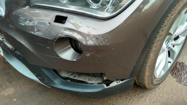Mulher fica ferida em acidente em Rolim de Moura