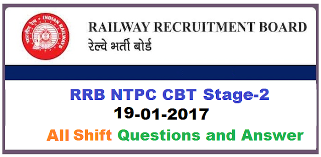rrb-ntpc-19-jan-solved-paper