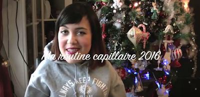 Vidéo Ma routine capillaire 2016