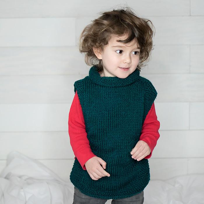EASY Kids Sweater Free Knitting Pattern | Gina Michele | Bloglovin\'