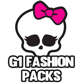 MH G1 Fashion Packs Dolls