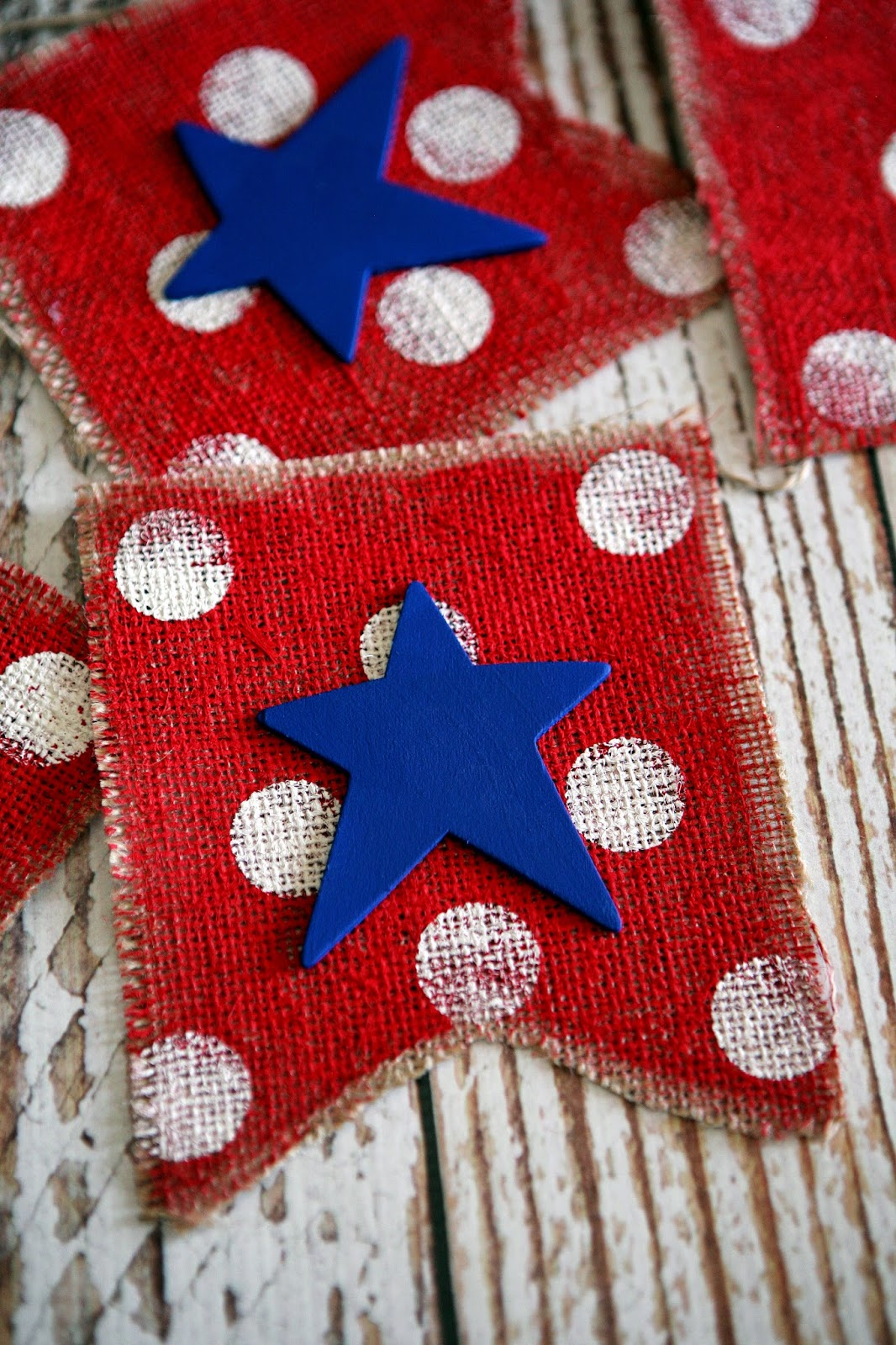 eighteen25 red white and blue 4th of july banner. Black Bedroom Furniture Sets. Home Design Ideas