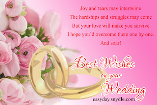 congratulations on your wedding day message