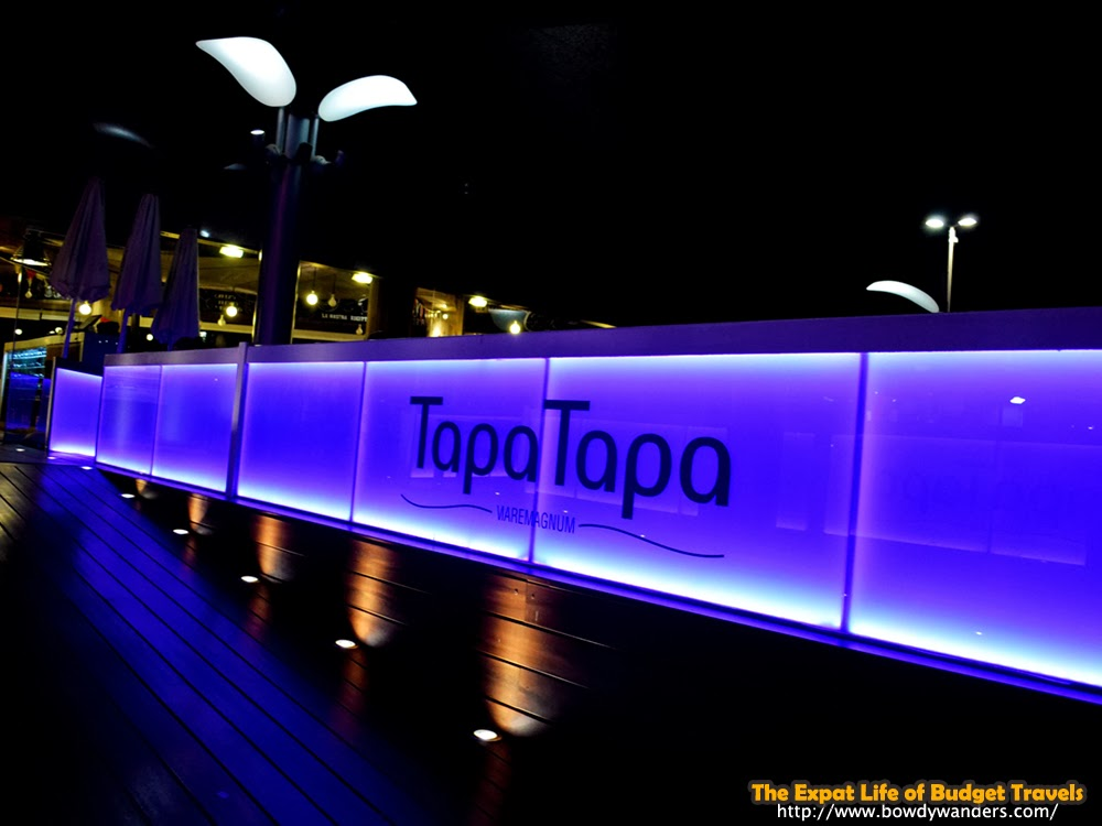 bowdywanders.com Singapore Travel Blog Philippines Photo :: Spain :: Rambla De Mar at Night Like No Other