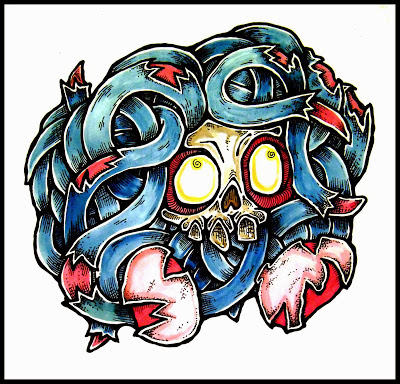 Zombie Pokemon by Daryl Hobson