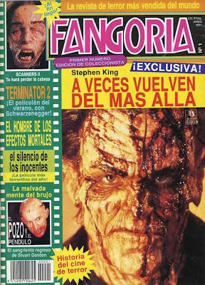 Fangoria, portada de la revista