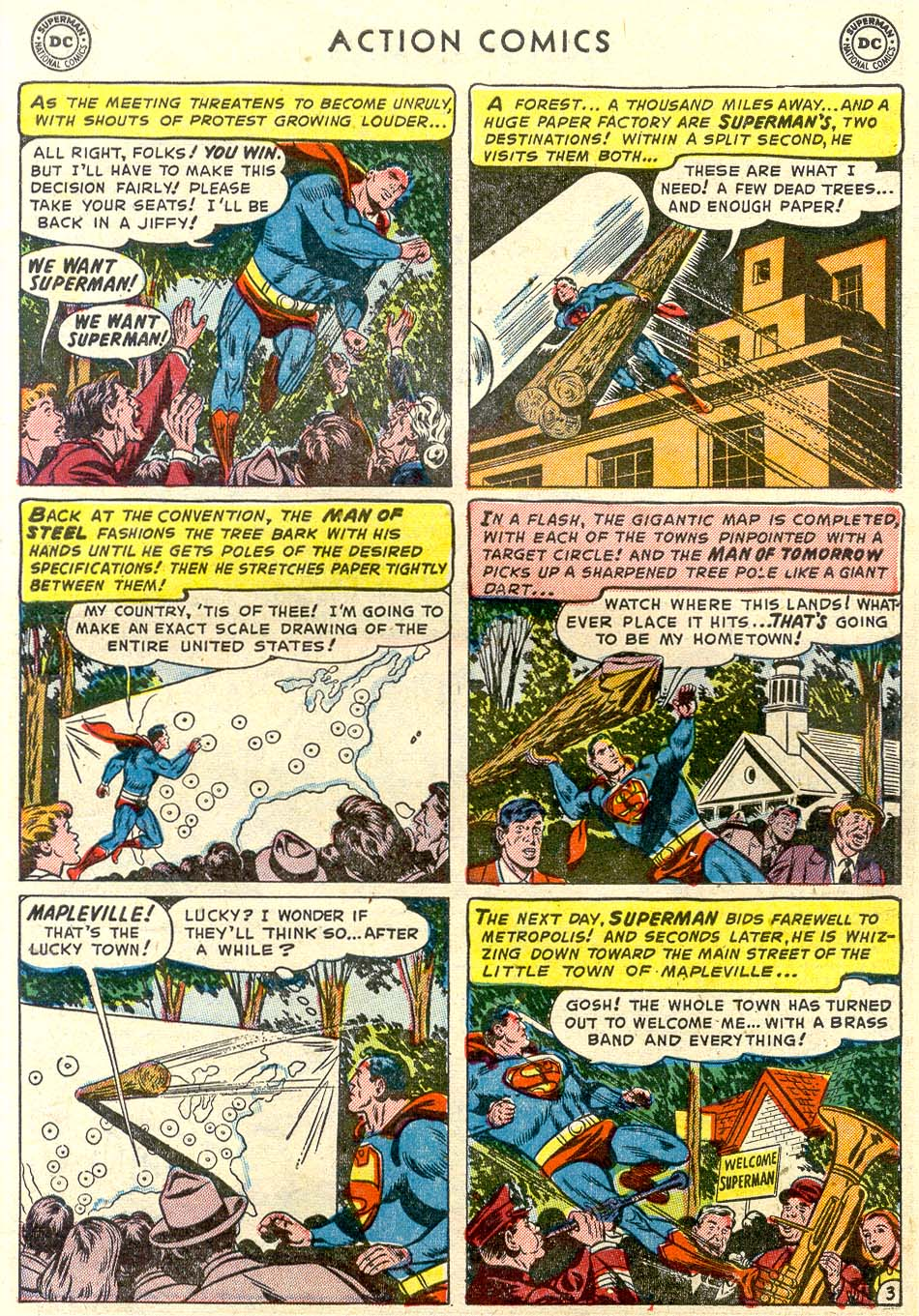 Read online Action Comics (1938) comic -  Issue #179 - 4