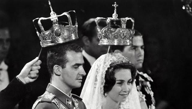 Don Juan Carlos y Doña Sofia y sucesion a la Corona