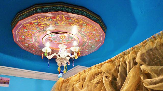 Изображение светильника в отеле, Касабланка