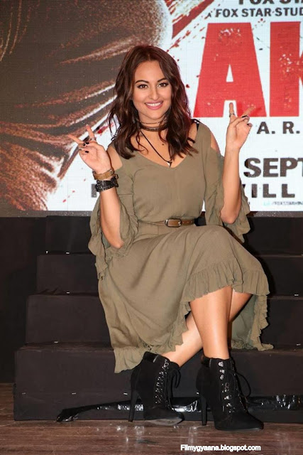 Sonakshi Sinha at Akira Movie Trailer Launch