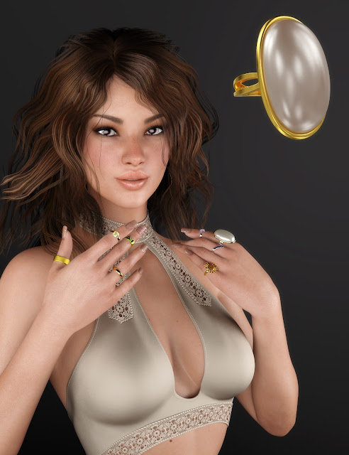 Rings and Things for Genesis 3 Female