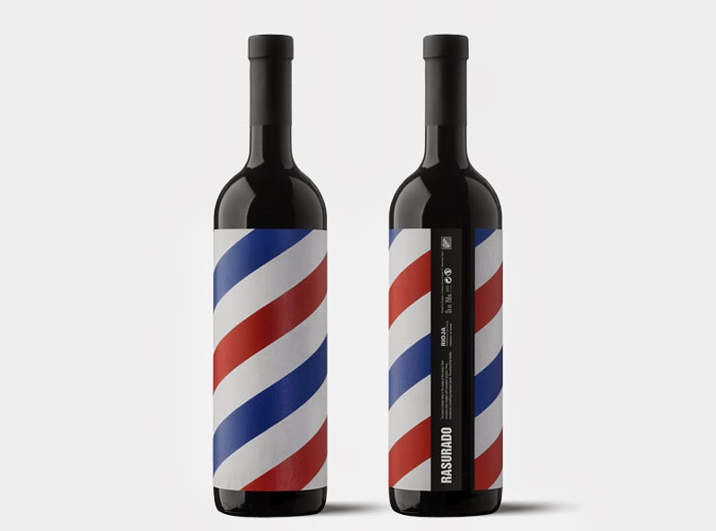 Tendencias en packaging de vino, Rasurado