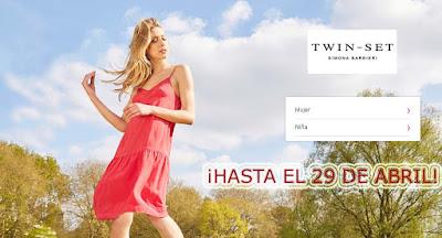ropa para mujer y niña de la marca Twin Set en oferta