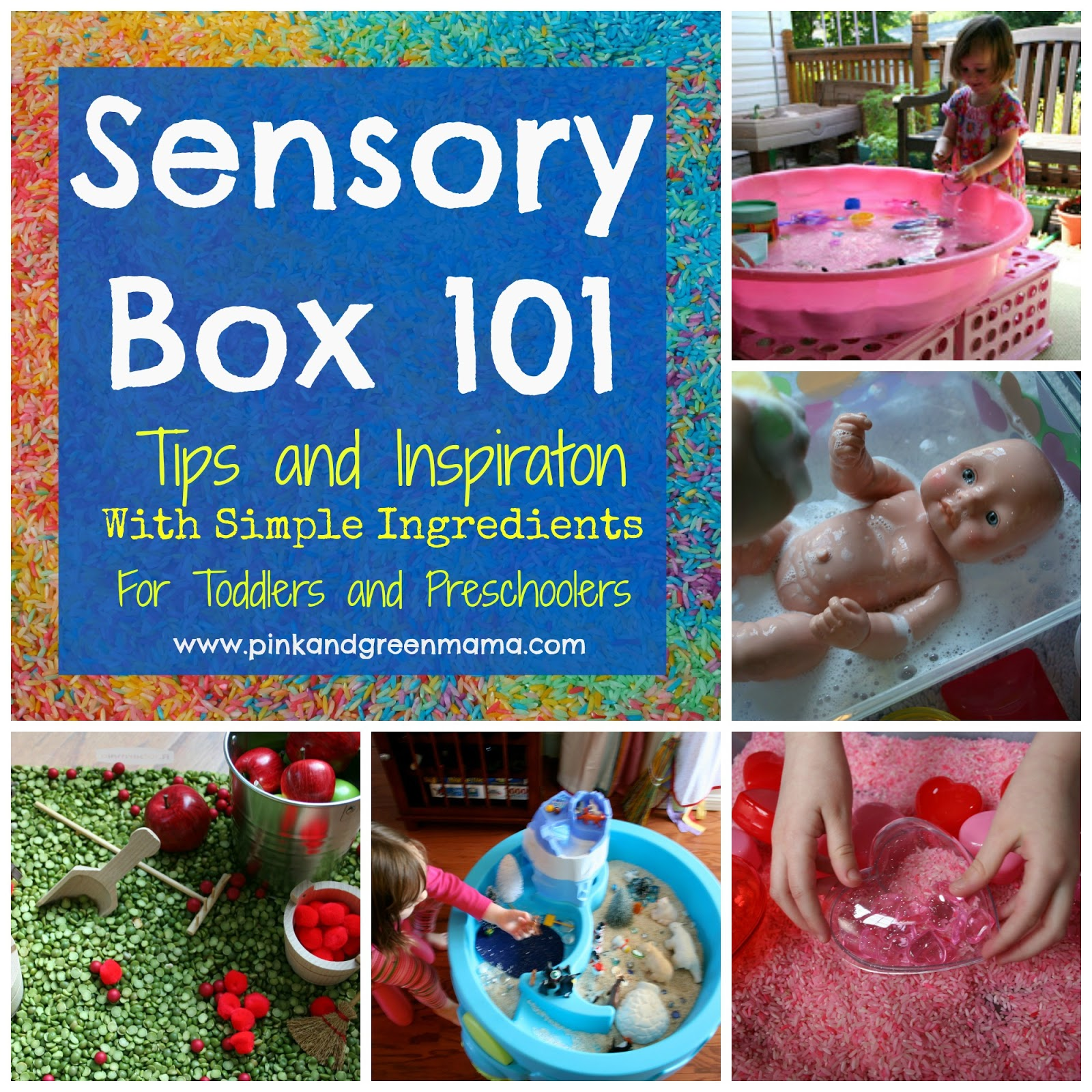 Today S Hint 7 Affordable Activity Ideas For First: Pink And Green Mama: * Sensory Boxes 101 Tips And