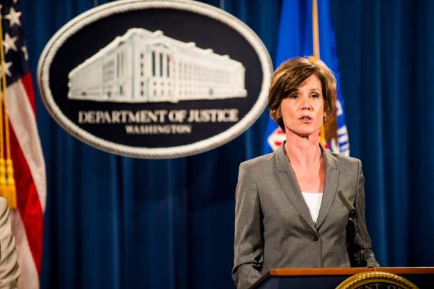 Trump Fires Acting Attorney General After She Defies Him on Immigration Ban