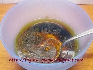 Μαρινάδα για κοτόπουλο με μουστάρδα μέλι και φασκόμηλο - από «Τα φαγητά της γιαγιάς»