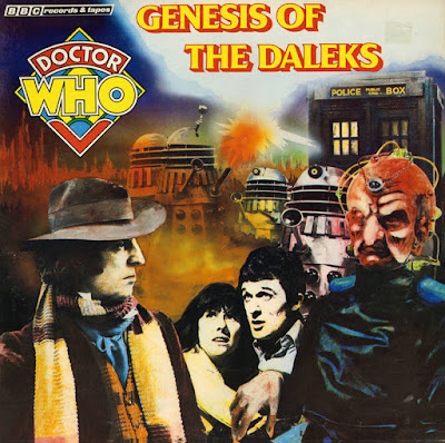 "Record Store Day 2016 Exclusive Doctor Who ""Genesis of the Daleks"" LP Vinyl Record"