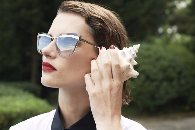 206efded1da40 The Prada Cinéma eyewear collection takes center stage with an unusual  combination of contemporary aesthetics and sophisticated femininity. The  sunglasses ...