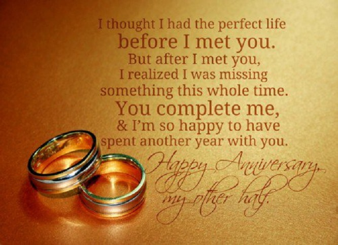 215 Happy Wedding Anniversary Quotes For Him Husband