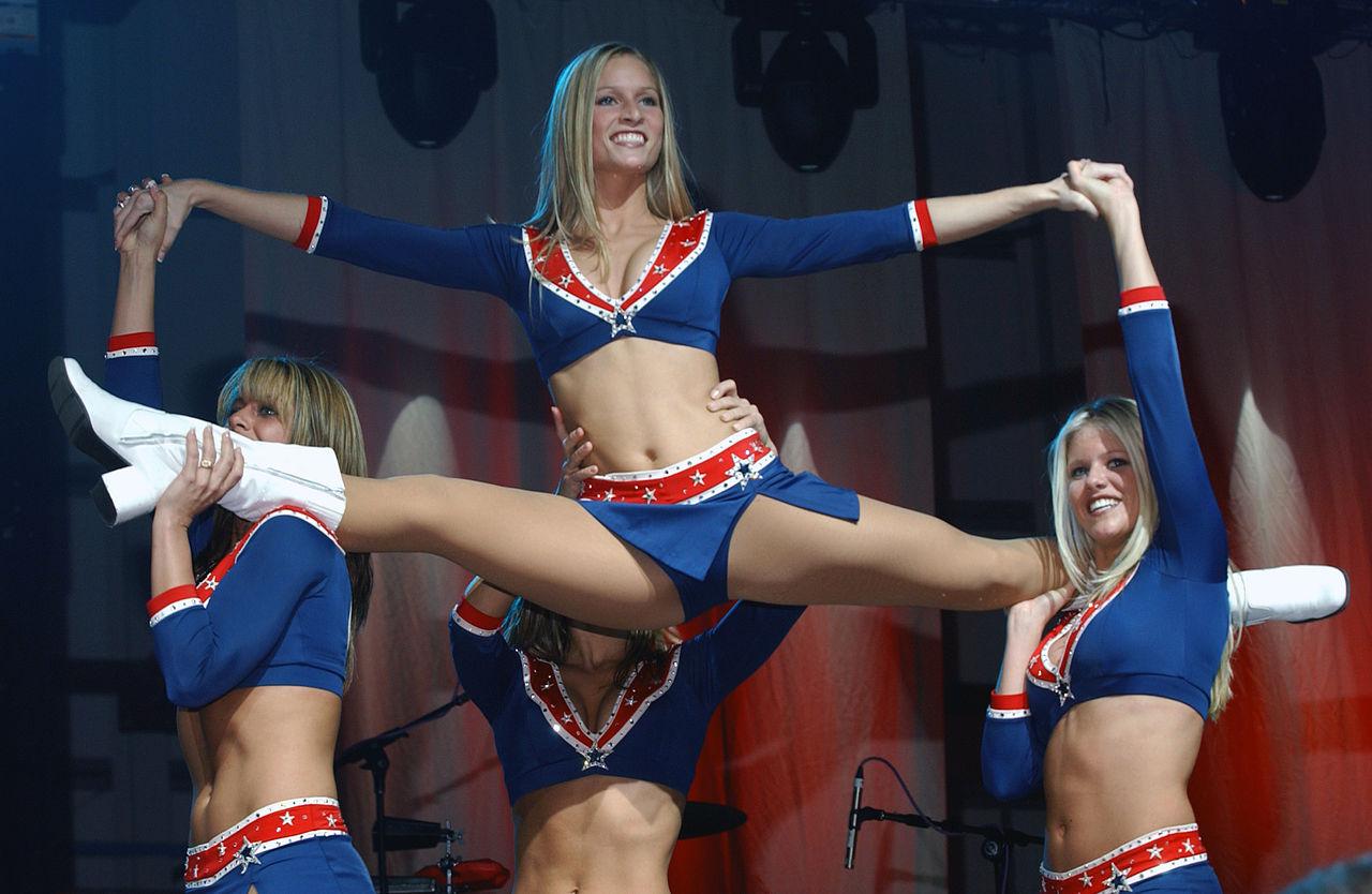 Patriots Cheerleaders Nude