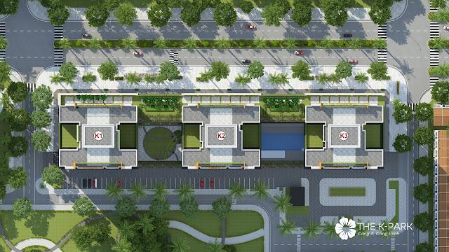 Mặt bằng tổng thể dự án The K - Park Văn Phú