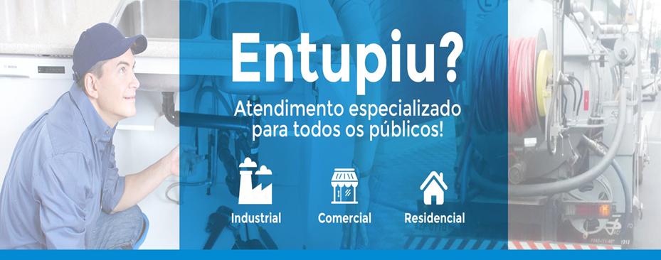 Desentupidora de Rede Pluvial para Mercantil Paulista 250 Ltda